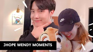 Jhope Wendy Sweet Moments