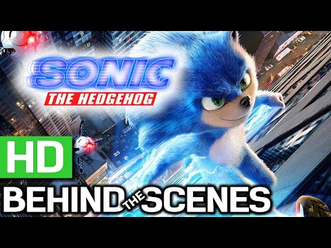 Sonic The Hedgehog Behind The Scenes 2020 Jim Carrey Adventure Movie Hd Youtube