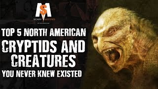 TOP 5 North American CRYPTIDS & CREATURES You Never Knew Existed