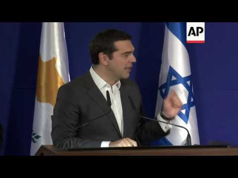 Israel PM in energy talks with Greece, Cyprus