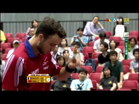 2016 Japan Open (MS-QF) GAUZY Simon - FAN Zhendong [HD] [Full Match/Chinese]
