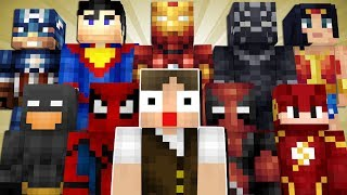 Minecraft Lendário #81: VAMOS COLECIONAR TODAS AS ARMADURAS DE SUPER-HERÓI!