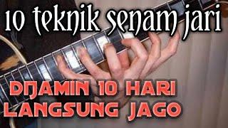 Belajar senam jari gitar
