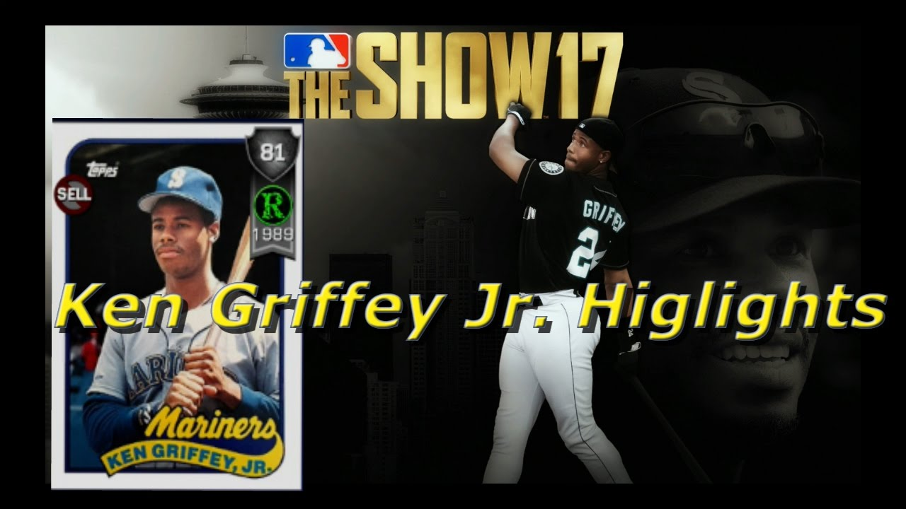 Mlb The Show 17 Ken Griffey Jr Rookie Card Homeruns