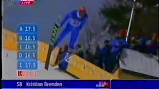 Kristian Brenden - 204.5 m - Planica 1999
