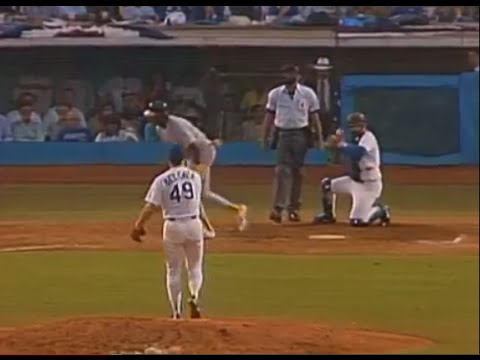 1988 World Series, Game 1: Athletics @ Dodgers