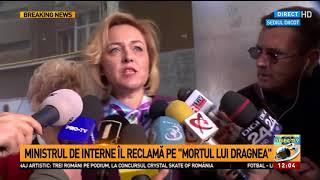 Ministrul de Interne plângere la DIICOT