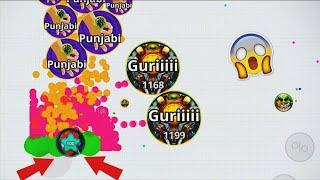 Unbeatable Duo Destruction!!! 80k Gameplay- Mobile Agar.io