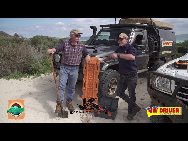 Graham Cahill and Nick Underwood - tips on beach driving