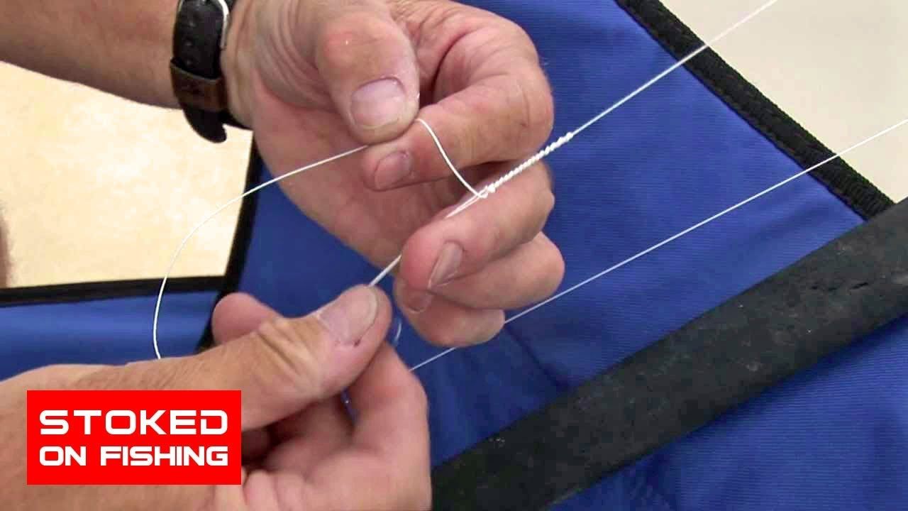 How To Tie A Bimini Twist Knot In 30 Seconds