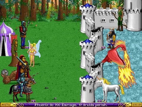 Heroes of Might and Magic: A Strategic Quest (PC DOS) longplay part 1/3