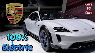 Porsche Taycan  its First Electric. Code Name J1 or Mission E
