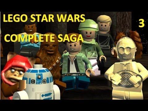 lego star wars complete saga walkthrough part 3: escape