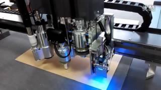 Cardboard sign making cnc cutting table making machine