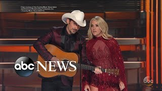 2017 CMAs pay tribute to victims of recent tragedies