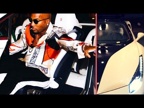 Jeezy Balling Out For His Birthday Shows Off His 2018 White Ferrari, Maybach , Bentley , Rolls-Royce