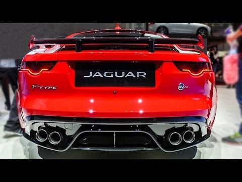 2017 Jaguar F-TYPE SVR Coupe - 2017 Geneva Motor Show