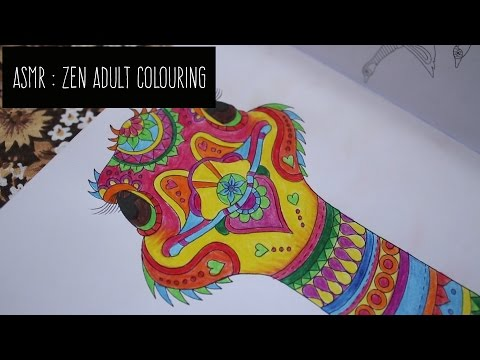 ASMR Colouring In / Zen Colouring w/Pencil Sounds / No Talking