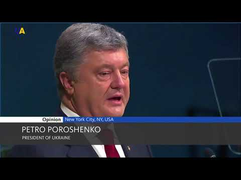 Statement by Petro Poroshenko During the General Debate of the UN General Assembly