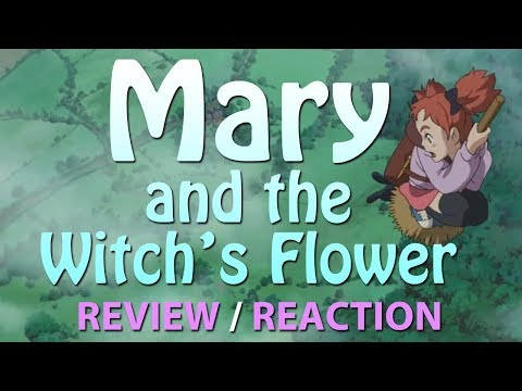 Mary And The Witch's Flower 2017 - Teaser Trailer REVIEW / REACTION - Animated Movie  Studio Ponoc