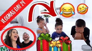 GIVING THE KIDS BAD GIFTS... **bad idea**