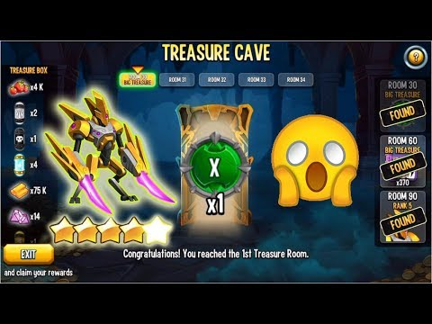 Monster Legends Treasure Cave new event review rank5 nemesis