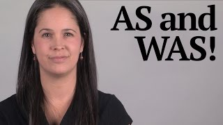 How to Pronounce AS and WAS American English Pronunciation