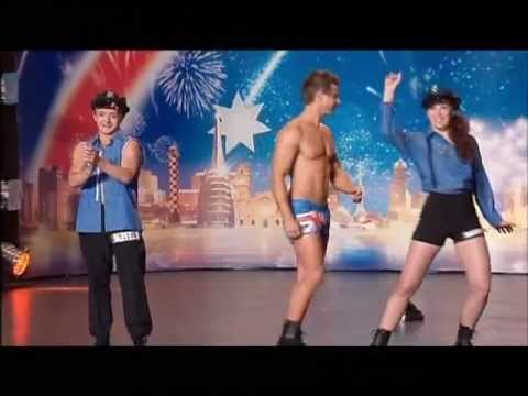 Dylan Yeandle - Stripper - Australia's Got Talent 2012 audition 7 [FULL]