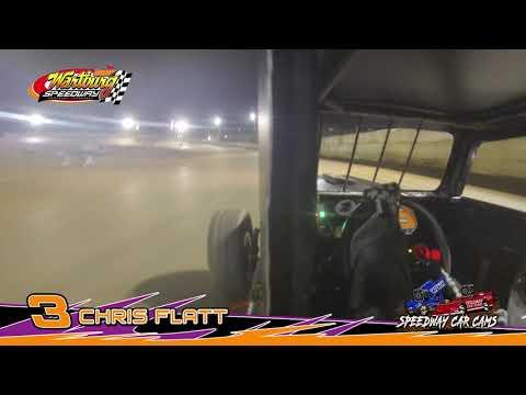 #3 Chris Flatt - Dwarf - 7-8-18 Wartburg Speedway - In Car Camera