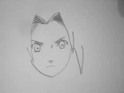 Comment dessiner sakura de naruto youtube - Dessin de naruto facile ...