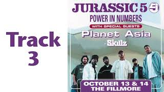 Jurassic 5 live 2002 Break / Monkey Bars / Cut Chemist & DJ Nu-Mark Show at Fillmore San Francisco