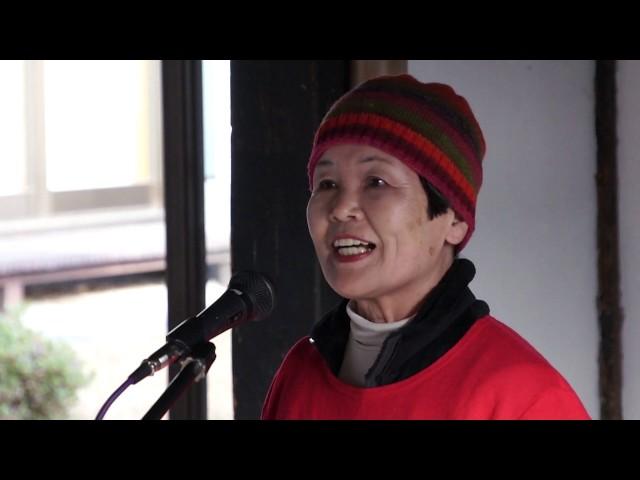 中村安子[今日の反核反戦展2018:リレートーク]