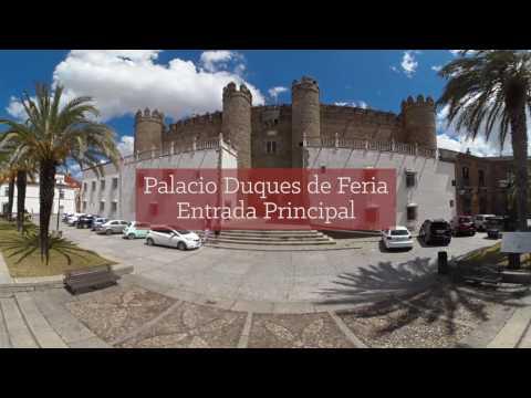 Vídeo 360º de Zafra (Extremadura) - Ruta Vía de la Plata