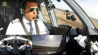 Loooong & Heeeeavyyy A330-200 Takeoff Run, Captain Richard stays cool as can be! [AirClips]