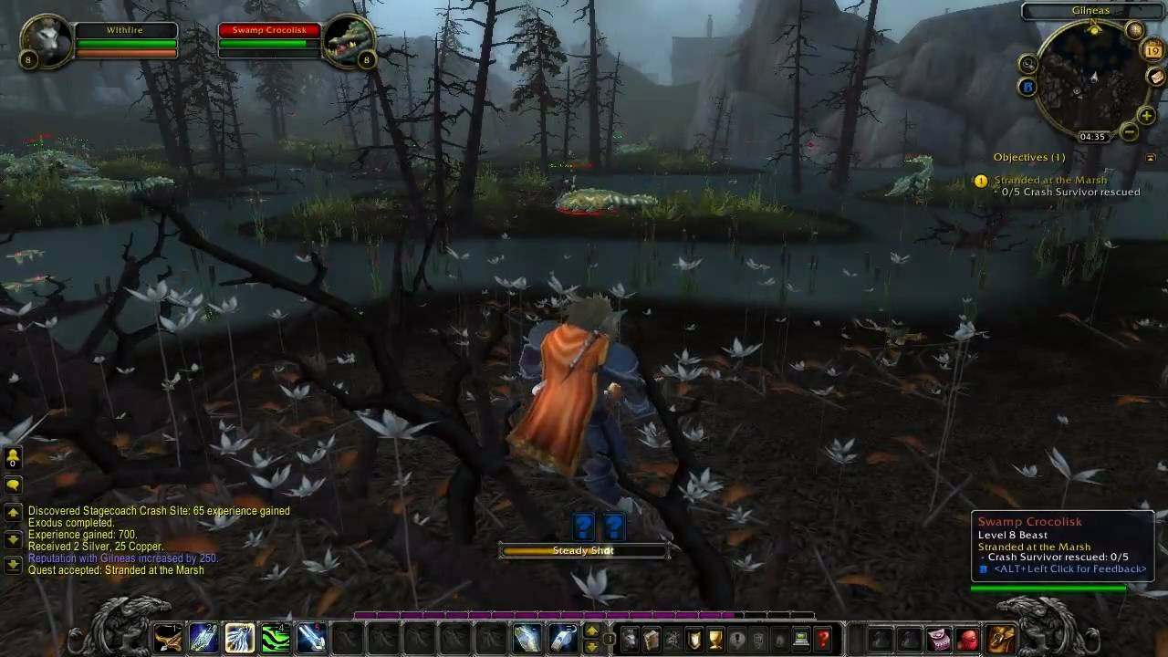 Wow cataclysm guide worgen starting zone 3 youtube for Cuisinier wow guide