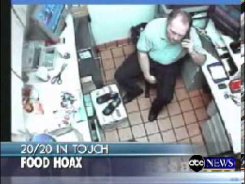 Fast food strip hoax
