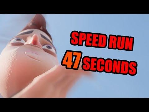 Hello Neighbor Act 2 Speedrun [47 SECONDS]