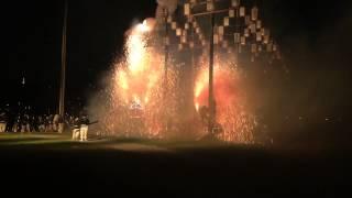 岐阜市の無形文化財である、手力雄神社の神事 火祭りです~ この動画は...