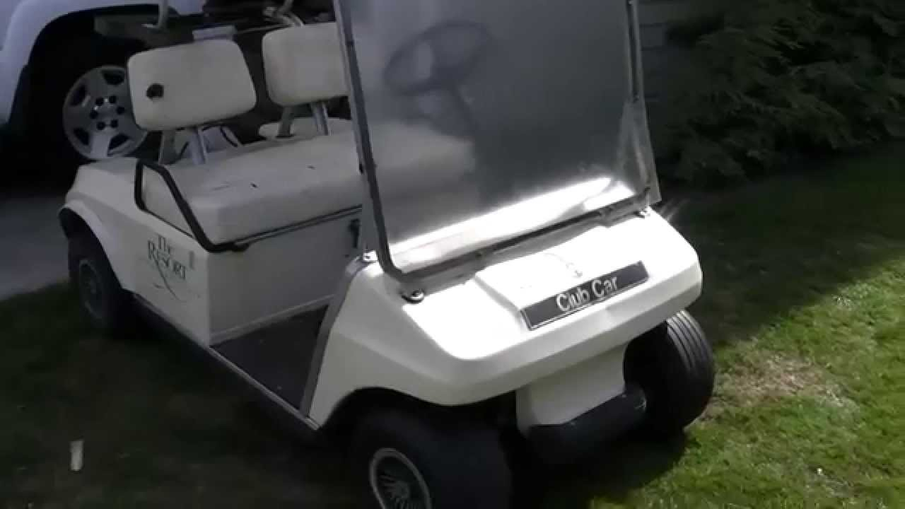 Craigslist Pos Golf Cart Youtube