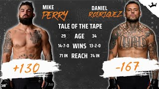 Will Daniel Rodriguez Defeat Mike Perry This Weekend?