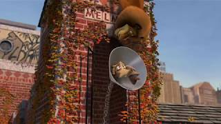 "Отрывок из мультфильма Мадагаскар ""Подъём Мелман Мелман Мелман"""