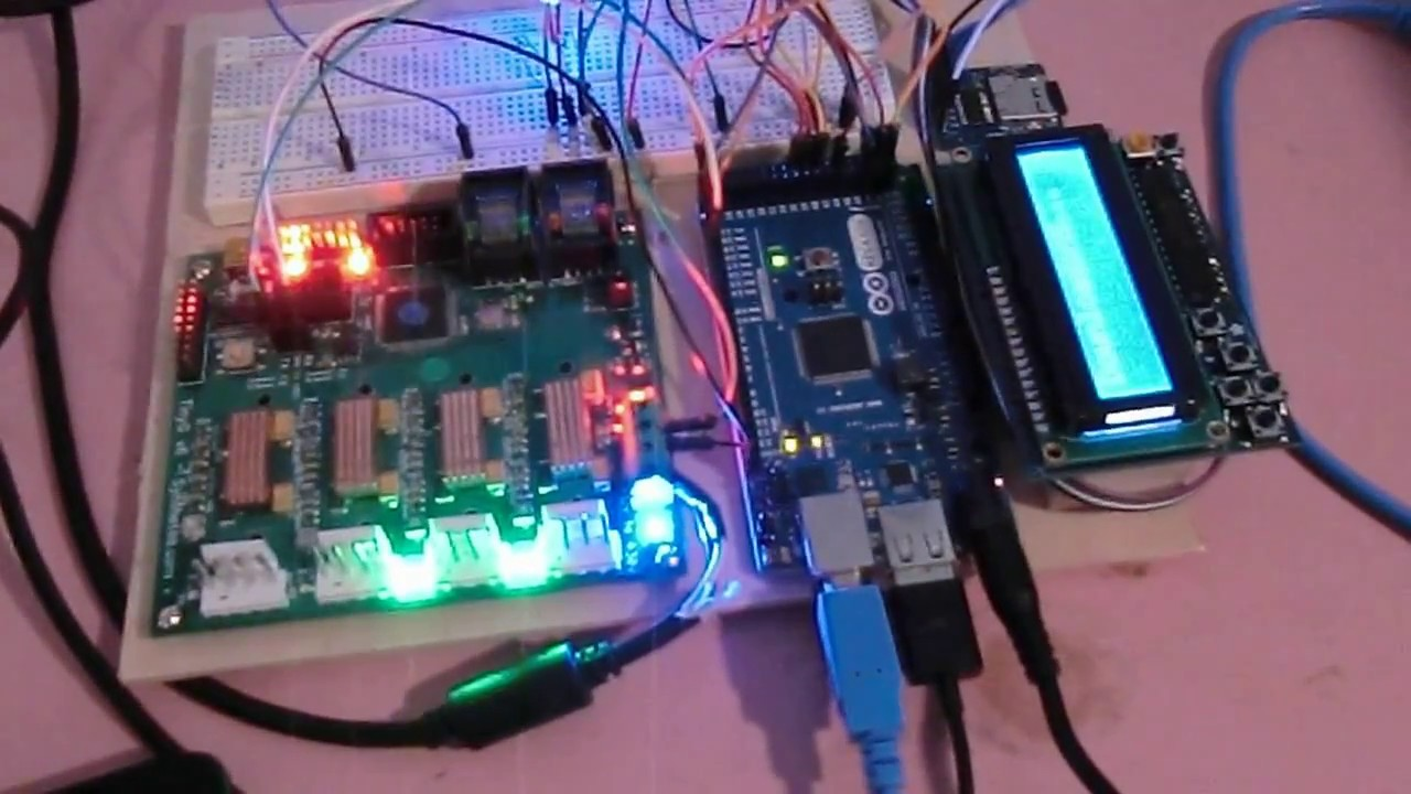 CNC Operator Control using Android Arduino MEGA ADK and TinyG