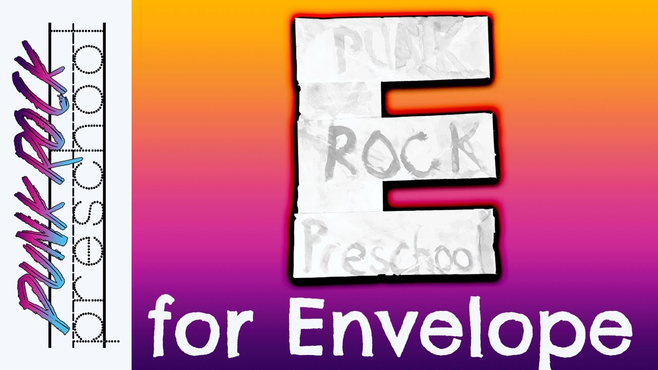 Letter E For Envelope Fun Preschool Crafts For Kids Best Preschool Activities For Kids