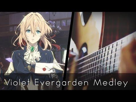Violet Evergarden OST Medley (Acoustic Guitar)【Tabs】