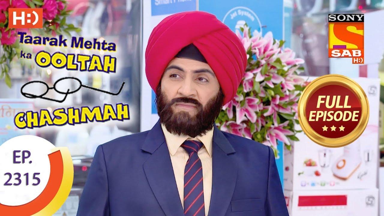 taarak-mehta-ka-ooltah-chashmah-त-रक-म-हत-ep-2315-full-episode-16th-october-2017