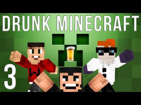 Drunk Minecraft #35 | STATUES OF WADE