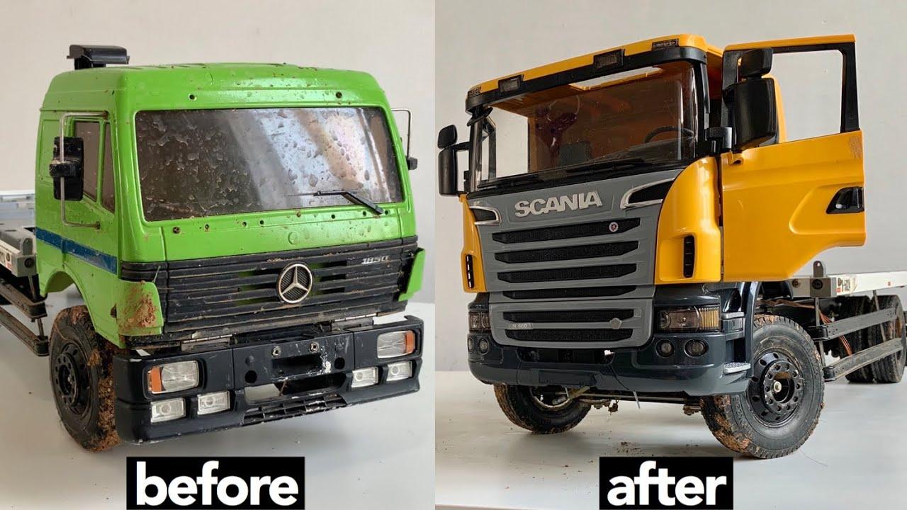 Modifikasi Truck Tua jadi model Baru