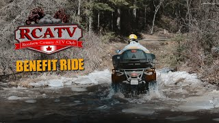 RCATV Benefit Ride   Griffith Ontario   RZR 900 S