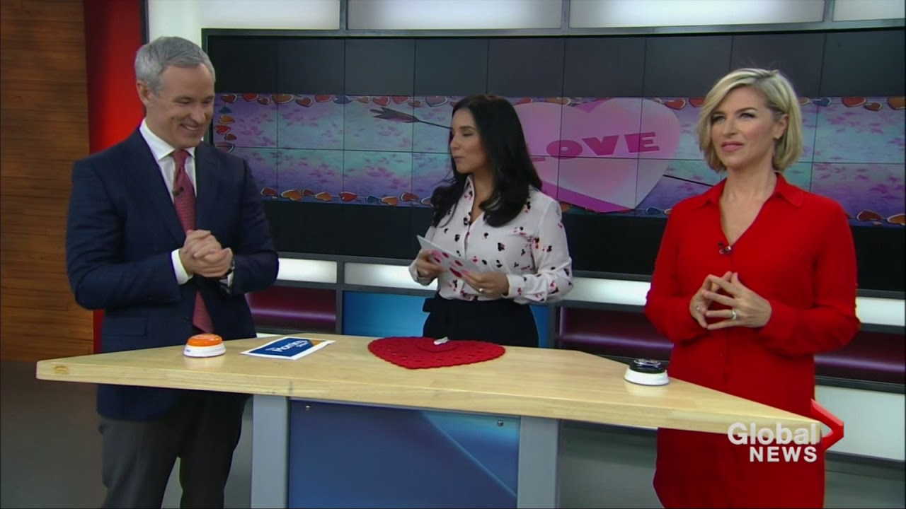 Valentine's Day Love Quiz on Global's The Morning Show