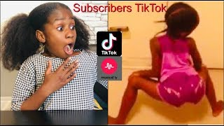 REACTING TO MY KID  SUBSCRIBERS CRINGEY TIKTOK- MUSICAL.LY VIDEOS!! Its minai Video